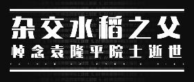 "<span style=""color: #07aefc""></span>悼念袁隆平院士"